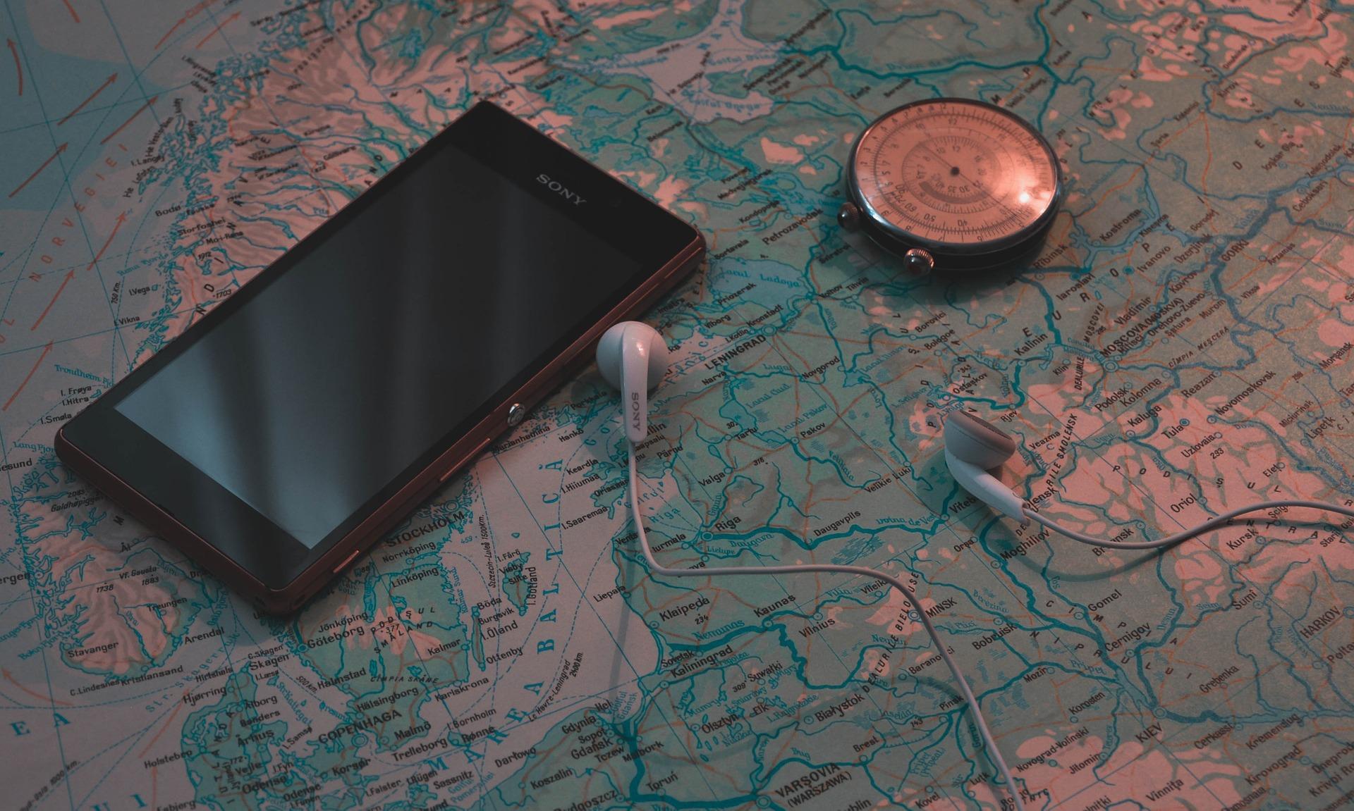 smartphone aventure