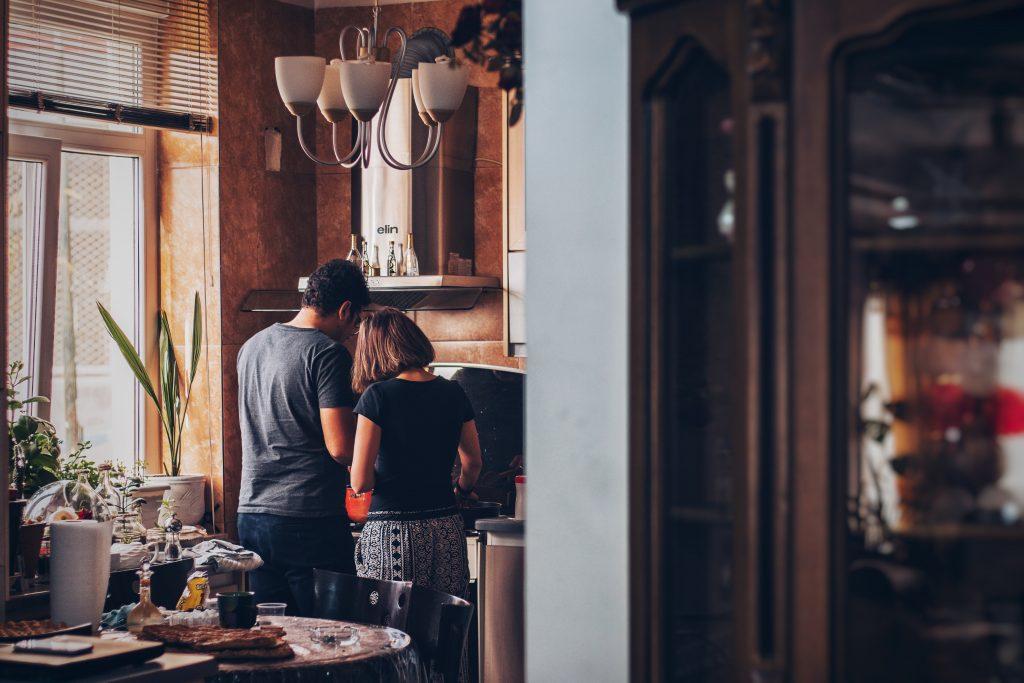 Couple dans son logement